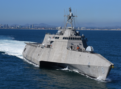 US Navy surface ship.